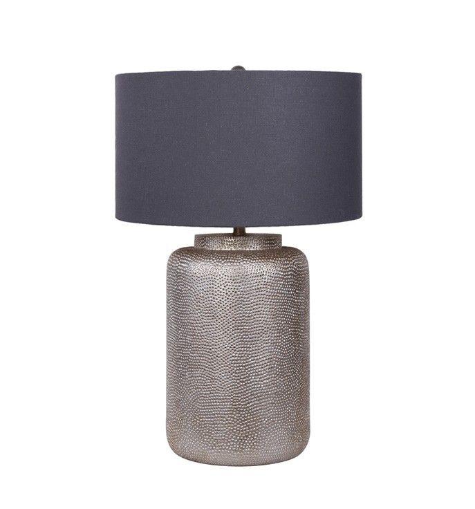 Lanvin Silver Lamp - I.O. Metro Furniture, Art & Accessories