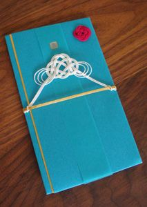 Japanese Special Envelope for Wedding Momentary Gifts (Mt. Fuji Design)
