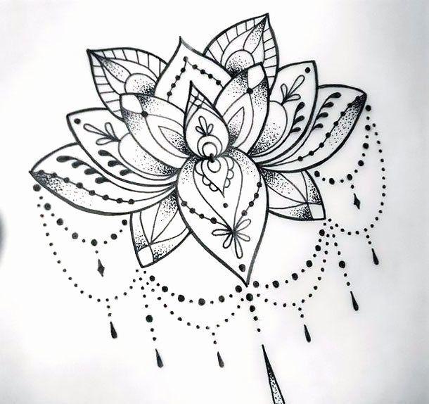 33++ Dessin mandala pour tatouage trends
