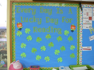 Carolee's Creative Classroom: April 3, 2011 March AR Bulletin Board