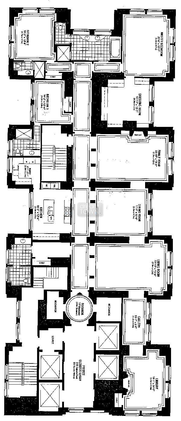 159 E Walton Floorplan House Plans Floor Plan Design Craftsman Floor Plans
