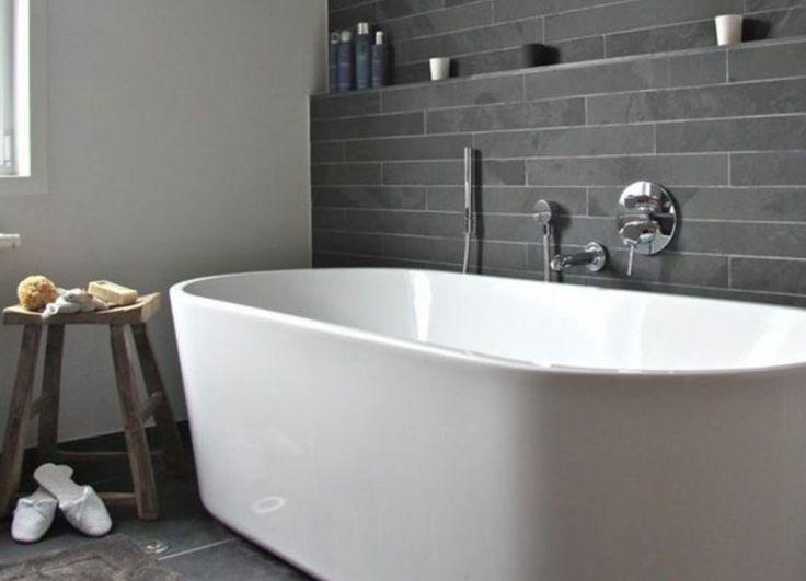 die besten 25 graue fliesen ideen auf pinterest. Black Bedroom Furniture Sets. Home Design Ideas
