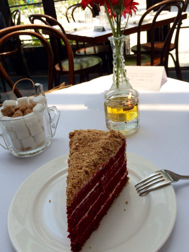 Red velvet cake by Union. Perfect!
