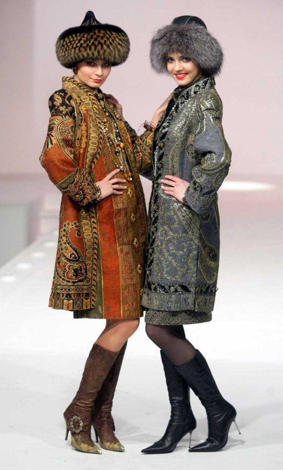 famous russian fashion designer vyacheslav zaitsev | creations of Russian fashion designer Slava Zaitsev at his fashion ...