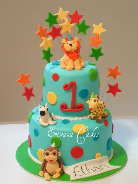 10 unique and cute first birthday cake ideas for boys and girls