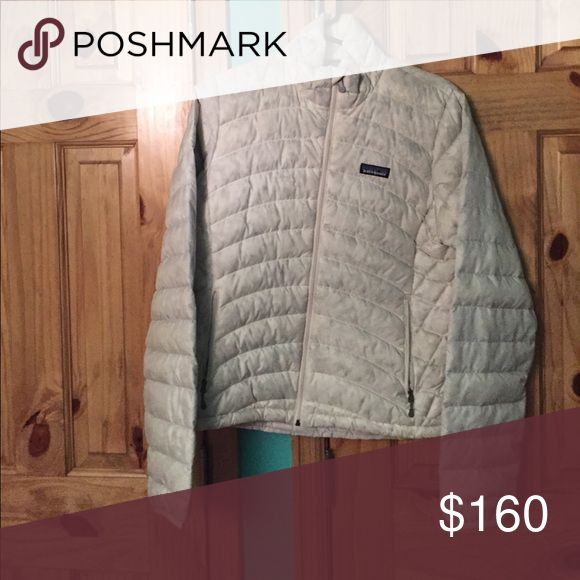 Patagonia down sweater jacket Winter white Down sweater. Only worn a few times. Excellent condition. Patagonia Jackets & Coats Puffers