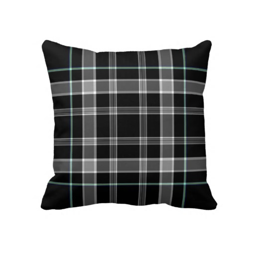 Black Plaid Throw Pillow : 98 Best images about Custom Throw Pillows on Pinterest Black plaid, Plaid and Damasks