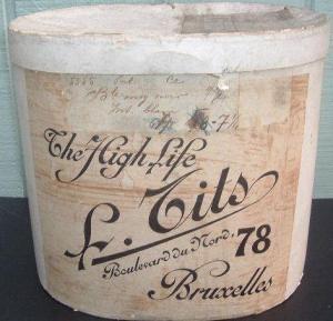 Antique Hat Box