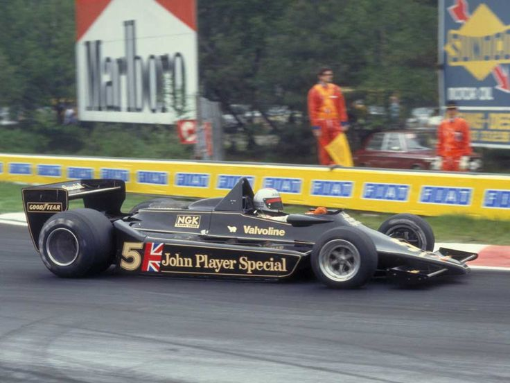 Mario Andretti JPS Lotus-Cosworth 1978