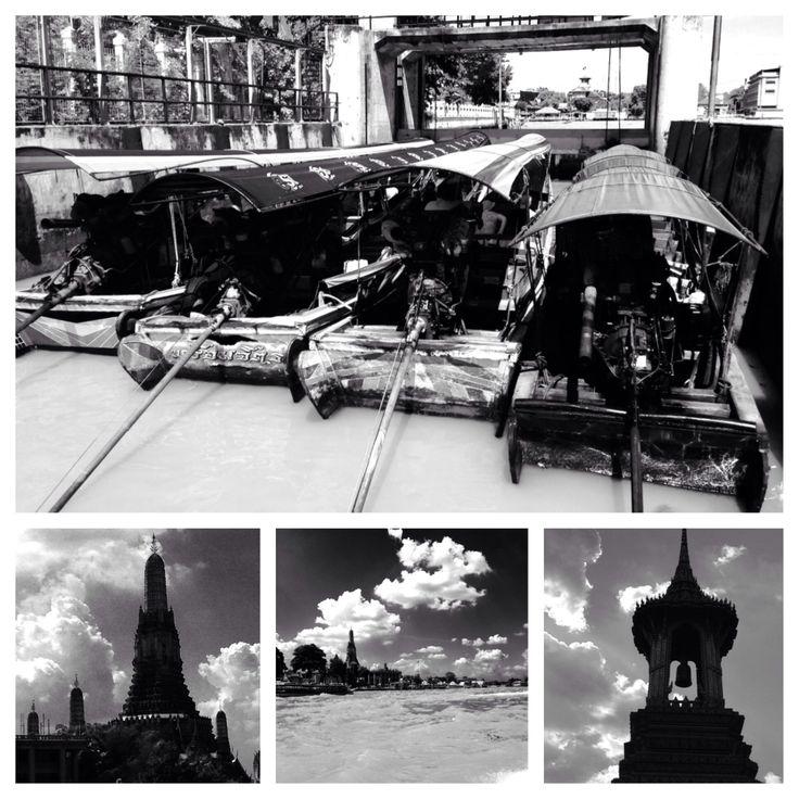 Boat trip snaps of Bangkok old town