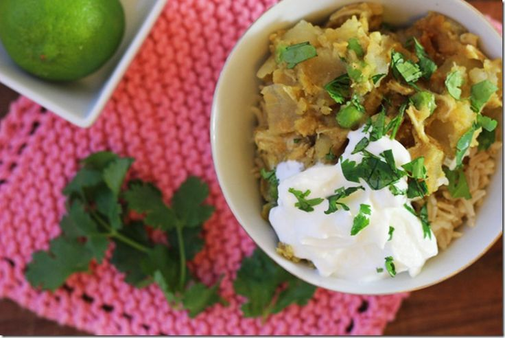 Slow cooker lentil chicken curry