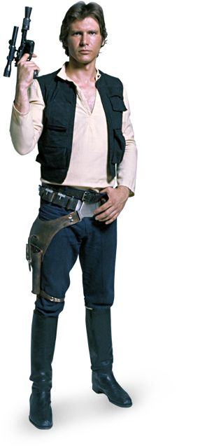 Han Solo - Info, Pictures, and Videos | StarWars.com - Okay, okay I have a little crush on him.