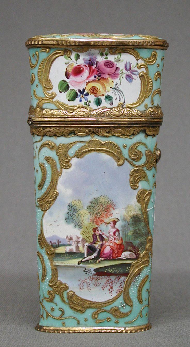 Nécessaire Date: ca. 1760–80 Culture: English (Staffordshire)