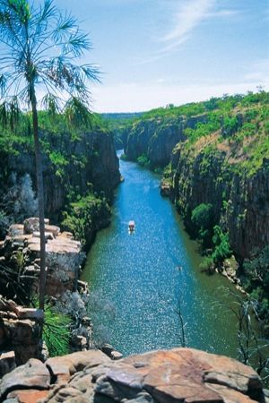 Northern Territory, Nitmiluk National Park, Australia - Explore the World with Travel Nerd Nici, one Country at a Time. http://travelnerdnici.com