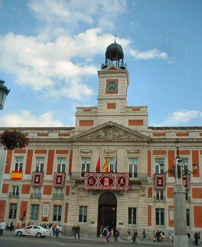 Sede Comunidad de Madrid, Puerta del Sol, Madrid
