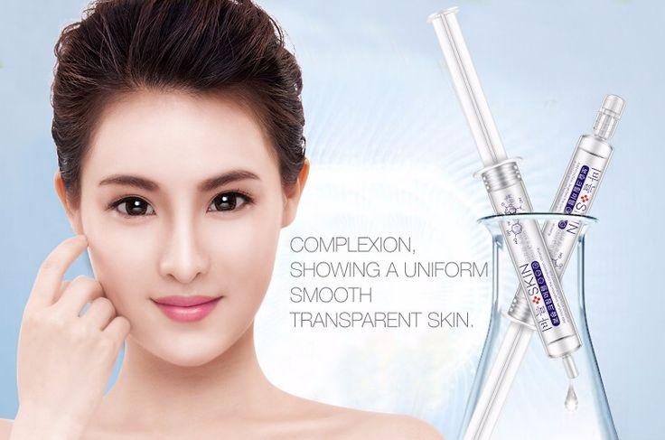 20pcs POST Bioaqua Hyaluronic Acid Ageless Collagen Serum Essence Whitening Skin Care Face Cream Anti Wrinkle Aging Moisturizing #Affiliate