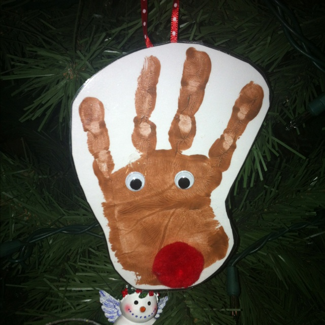 Reindeer Craft for kids | Christmas | Pinterest