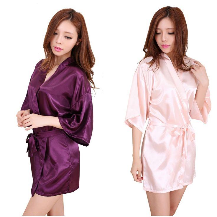 Goedkope rb031 plus size bruid kimono badjas nachtkleding gewaad 2016 nieuwe chinese kimono badjassen voor vrouwen thuis bruidsmeisje jurk, koop Kwaliteit gewaden rechtstreeks van Leveranciers van China: Gratis verzending via fedex/dhl/ups bij de bestelling hoeveelheid is meer dan 200 dollar;Als de hoeveelheid meer dan 4 s
