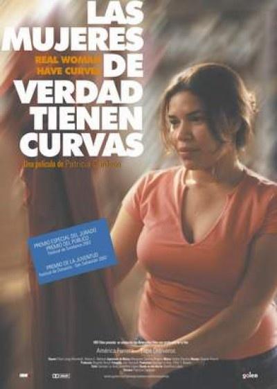 Las mujeres de verdad tienen curvas. La   adolescencia de Ana. Sus primeras vivencias laborales y sentimentales unidas a su saber llevar las curvas. Muy especial