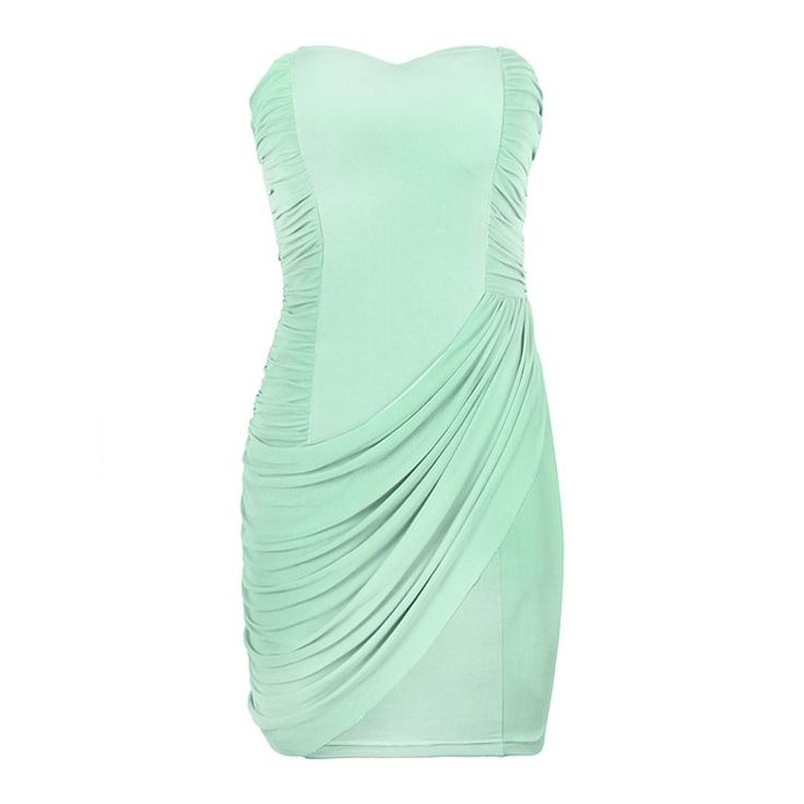 RUCHED MESH INSERT BODYCON DRESS $24.99 #Ally