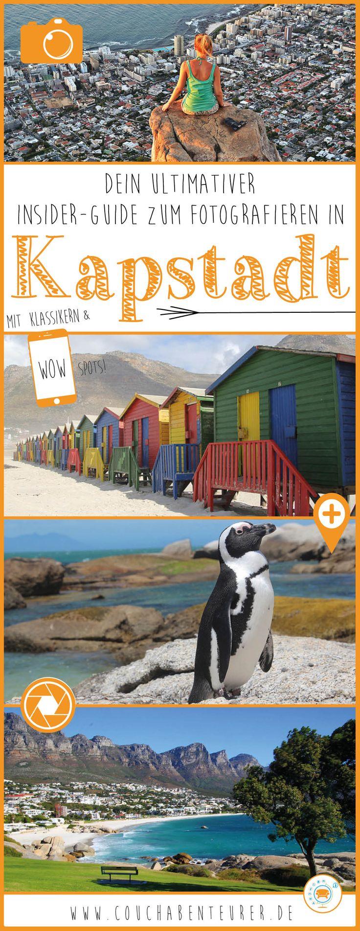 Nur hier bekommste du einen echten Insider-Guide an die Hand damit du in Kapstadt atemberaubende Fotos machen kannst - mit allen Highlights & Hotspots!
