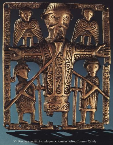 Bronze Crucifixion Plaque, Clonmacnoise, County Offaly, Ireland, 10th-11th century