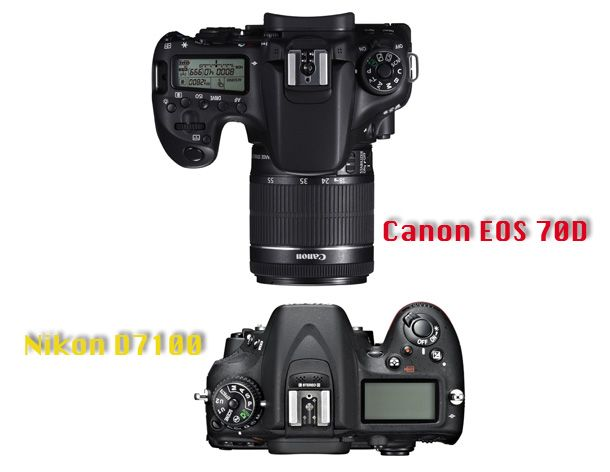 Canon EOS 70D vs Nikon D7100: 15 things you really need to know. jmeyer. http://www.digitalcameraworld.com/2013/07/05/canon-eos-70d-vs-nikon-d7100-15-things-you-really-need-to-know/