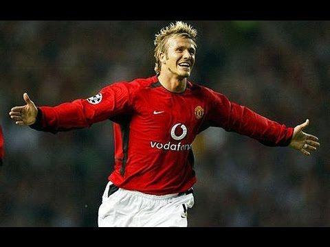 David Beckham - All Goals for Manchester United [HD]