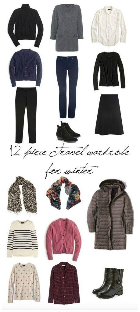 12-piece travel wardrobe for winter | une femme d'un certain âge