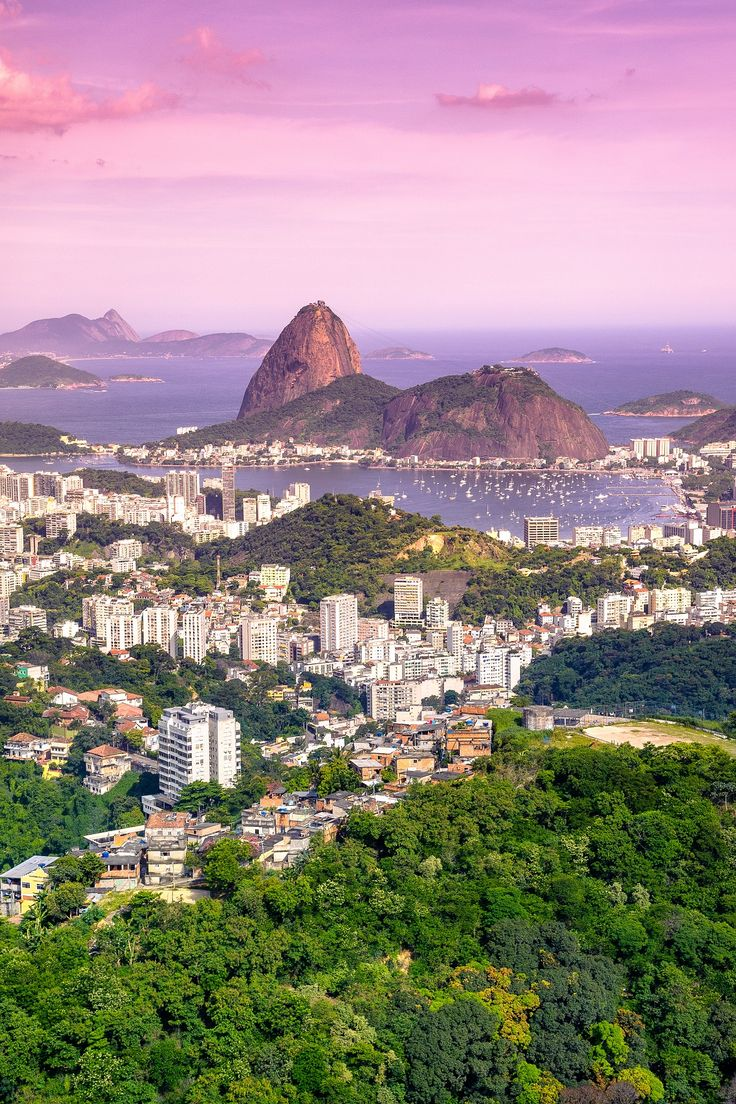 You'll see stunning views of Rio from atop Sugar Loaf Mountain which rises at the point where Guanabara Bay meets the Atlantic Ocean. Whichever way you look the city is a delight of sweeping beaches, sparkling water and green peaks.