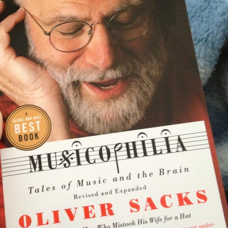 Tiana is currently readin Musicophilia by Oliver Sacks