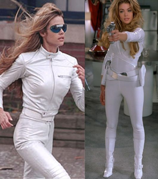 "Outfits designed by Danielle Hollowell for ""Undercover Brother."" Director: Malcolm D. Lee; Starring: Denise Richards as 'White She-Devil;' Universal Pictures (© 2002)."