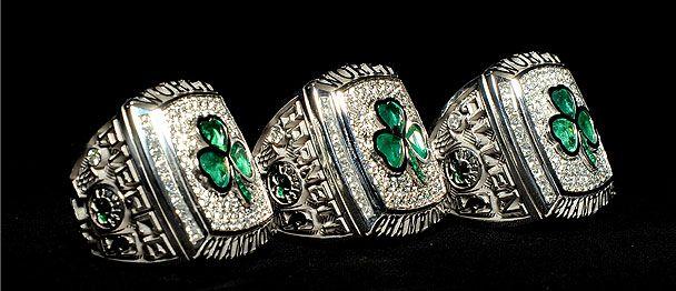 All 17 Boston Celtics Championship Rings Tradition N A