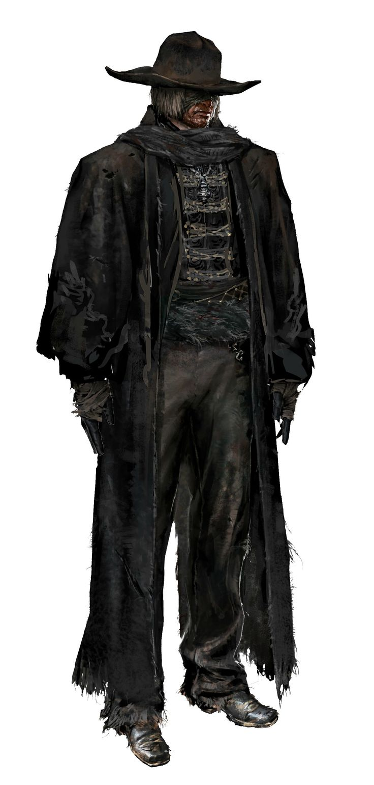This is a digital concept art render of Father Gascoigne from Bloodborne. Something I like about this piece of work is that the artist has added a shadow effect to his face, to make the character appear sinister and twisted