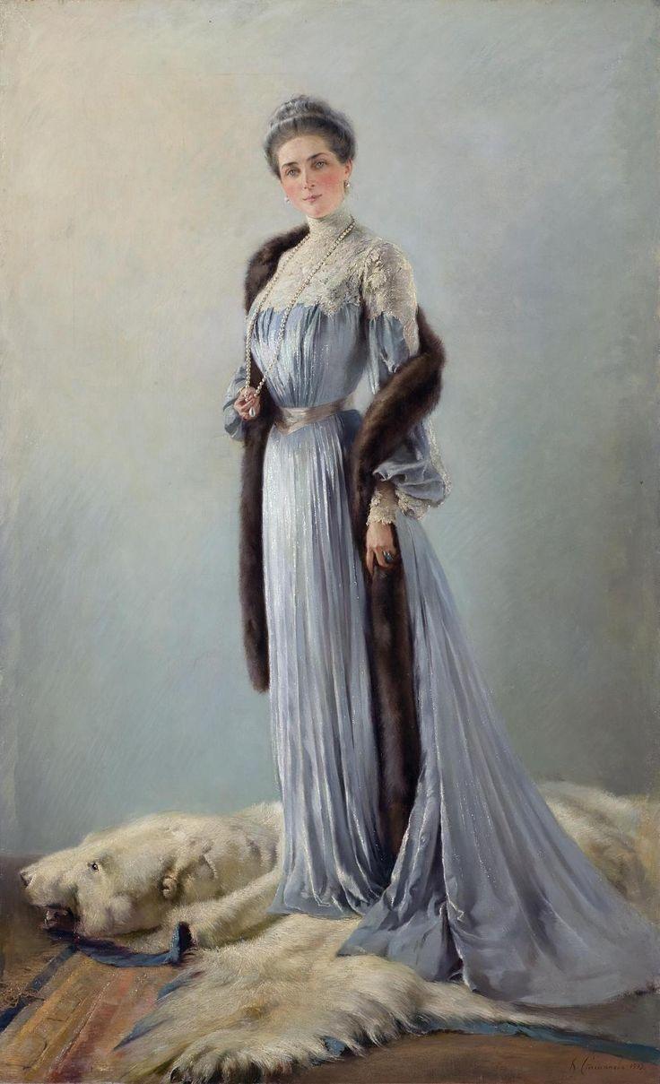 Портрет княгини З.Н. Юсуповой А.С Степанов Россия, 1903 г.