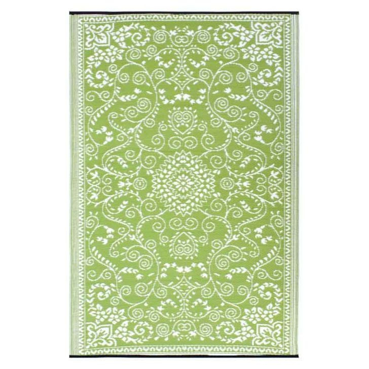 Murano Indoor/Outdoor Rug, Green/Off-White, 180 x 270cm