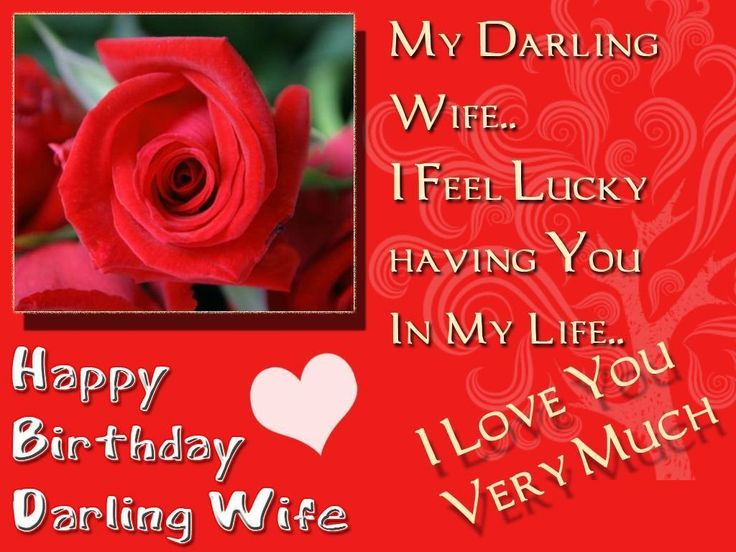 Best 25 Birthday wishes for wife ideas – Happy Birthday Cards for My Wife