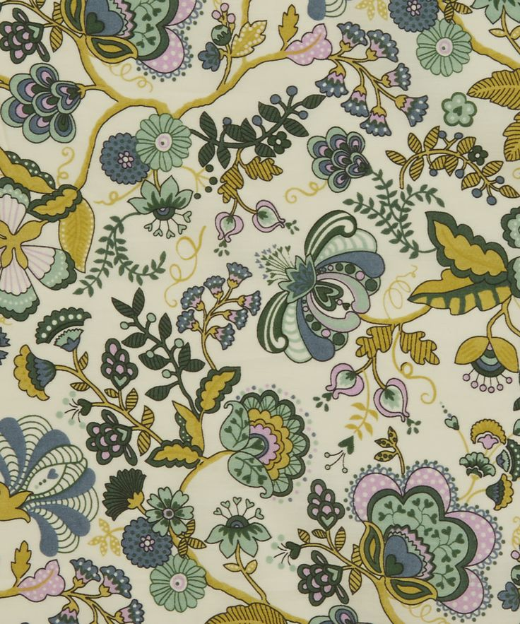 Liberty Art Fabrics Mabelle B Tana Lawn | Fabric by Liberty Art Fabrics | Liberty.co.uk