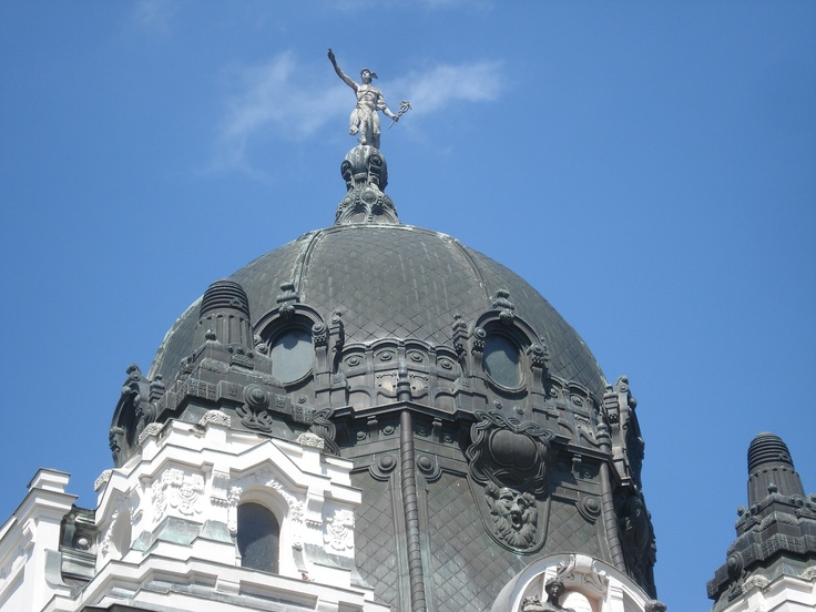 Hódmezővásárhely, mayor's office cupola, Hungary