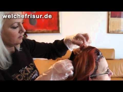Anleitung zum Haar Ansatz färben ohne die Strähnchen überfärben | Tutorial und Beispiel