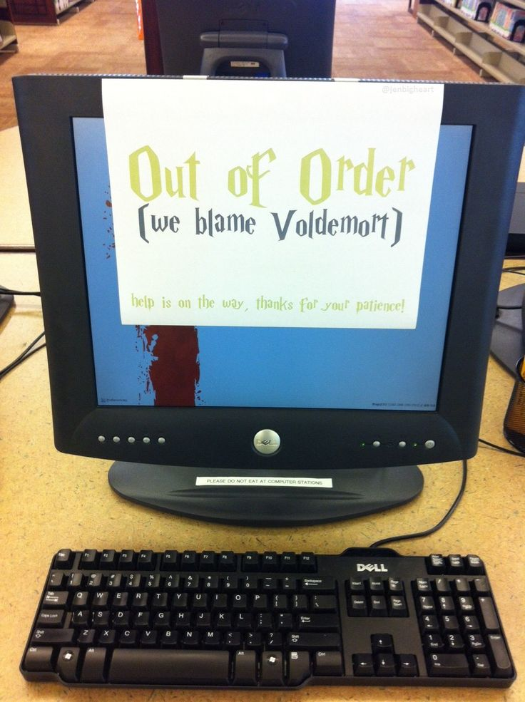 We blame Voldemort! Why my library rocks! (Westbank Library - Austin, Texas)