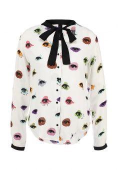 Блуза Desigual, цвет: белый. Артикул: DE002EWFXJ55. Desigual