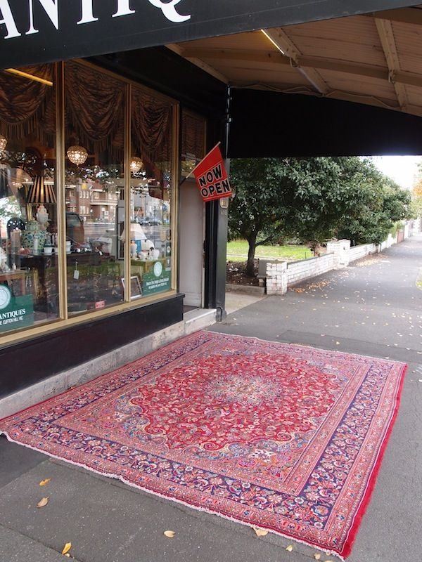 Roys Antiques, 18th and 19th century antique furniture, silver and russian ikons, Clifton Hill, (Fitzroy) Melbourne Australia - BIG Old Pers...