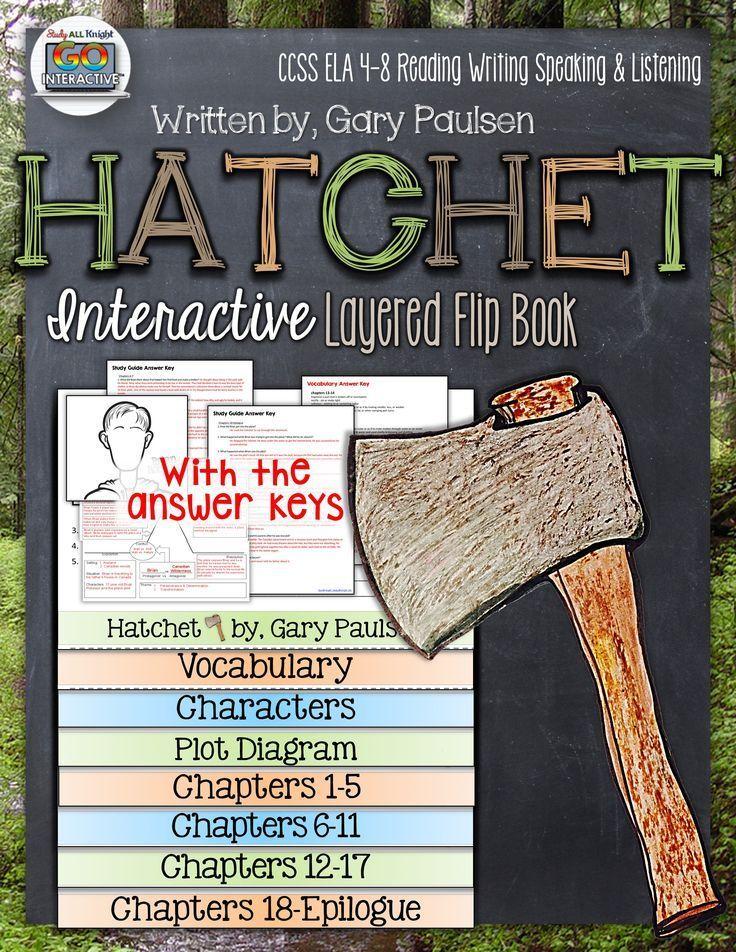Hatchet by Gary Paulsen: Interactive Layered Flip Book ($)