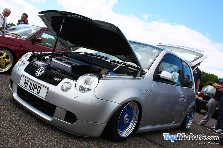 Our friend Piers Cooper's awesome VW Lupo GTI with BBS splits at GTI International 2012