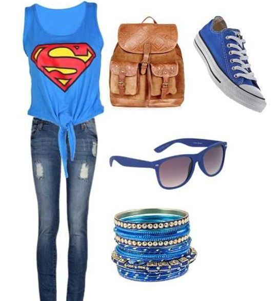 This something any teenager would wear. Taks it from a teenager herself. I love simple outfits like this :)