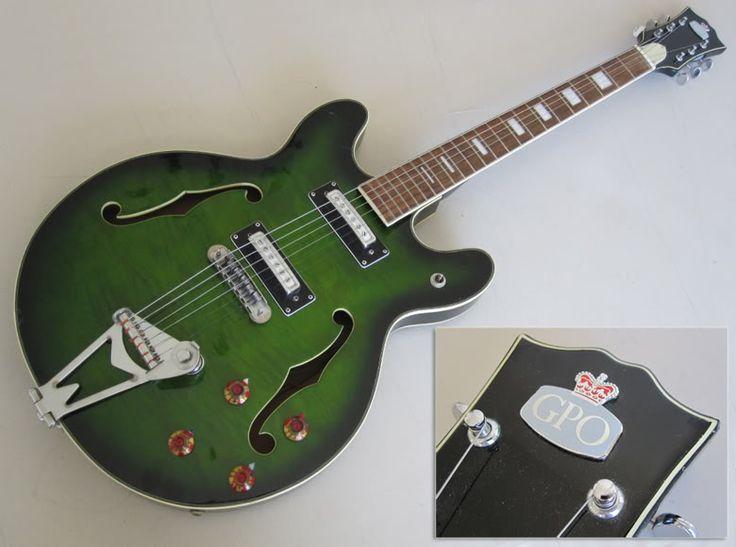 27 best diy guitar ideas images on pinterest guitars electric rh pinterest com Hollow Body Electric Guitar Teisco Del Ray Hollow Body Guitars