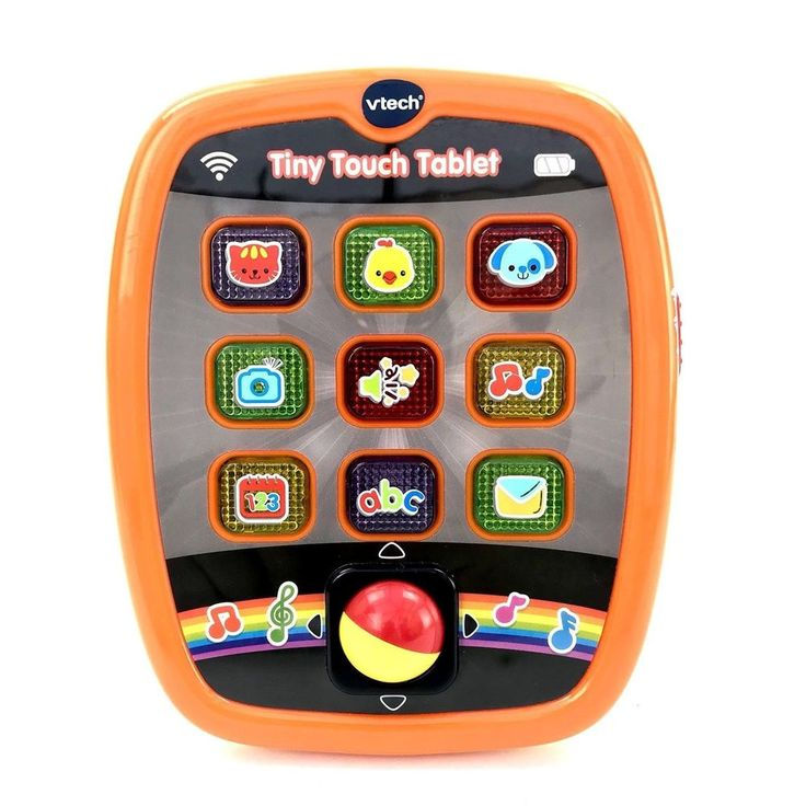Vtech Baby Tiny Touch Tablet learn ABCs Through a Happy Sing-along Song toys vgc