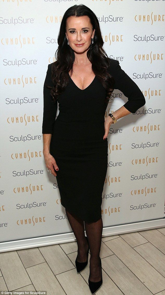 So that's her secret! 47 yo Kyle Richards told People on Thursday she has her fat lasered away...