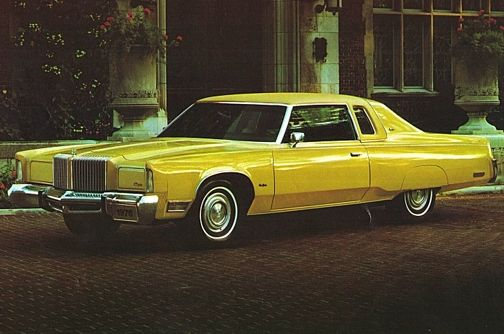 Chrysler New Yorker Brougham St Regis coupe